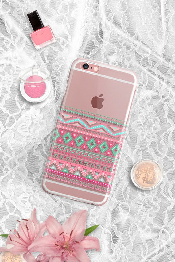 iPhone 7 Case Clear iPhone 7 Plus Case iPhone 5S Case iPhone 6 case Transparent iPhone 6s case Tribal iPhone 6 plus case iPhone 6s plus case