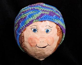 Crochet Multi-Color Earwarmer