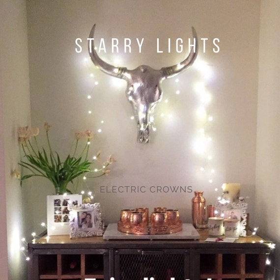 Home Decor String Lights Wall Hanging Firefly by ElectricCrowns