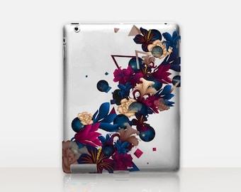 Floral Transparent iPad Case For - iPad 2, iPad 3, iPad 4 - iPad Mini - iPad Air - iPad Mini 4 - iPad Pro