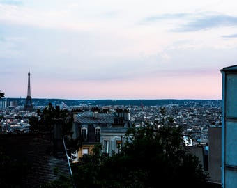 Paris Sunset from Montmontre