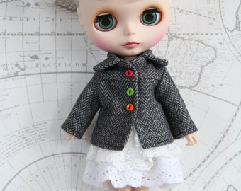 Clothing/jacket/Coat for dolls/doll Blythe, Tangkou, Pullip (1/6 scale)
