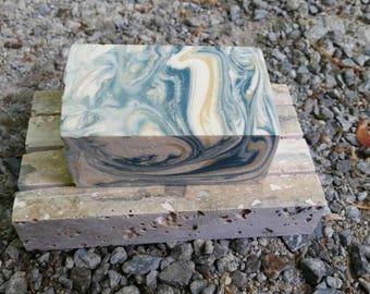 Stone soap dish, Handmade Artisan, Natural, Homemade, Stone, Lather Up Naturally