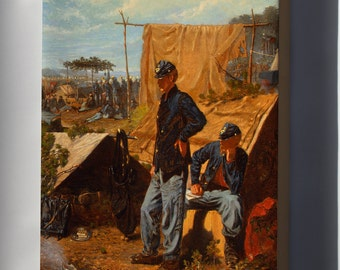 Canvas 24x36; Home, Sweet Home By Winslow Homer C1863