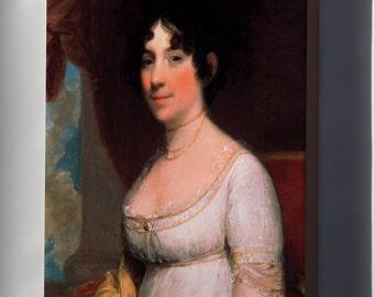 Canvas 24x36; Gilbert Stuart Dolley Payne Madison Mrs. James Madison