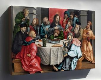 Canvas 16x24; The Last Supper By Hans Leonhard Schaufelein 1511