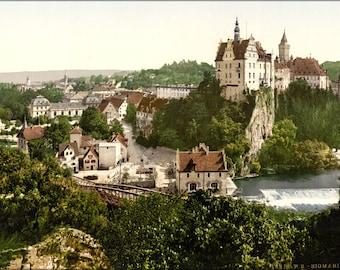 16x24 Poster; Sigmaringen, Germany Photochrom 1895