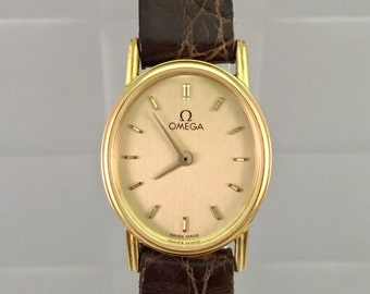 OMEGA Watch Gold lady vintage