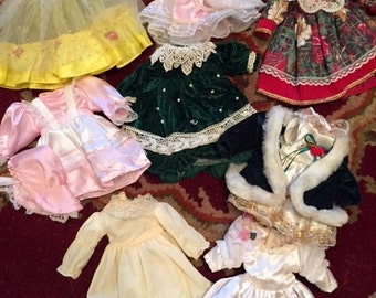 Vintage Doll Dresses (Lot 10) Group 11