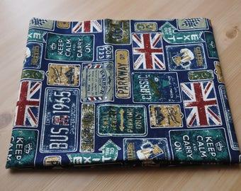 London Fabric for 1/2 yard green