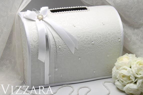 Card Gift Box Wedding: Box For Envelopes Wedding Elegant Silver Wedding Card Box Gift