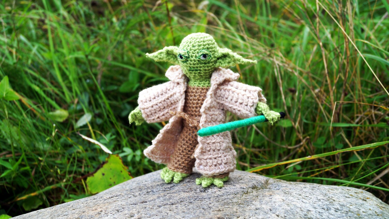 Jedi Master Yoda Amigurumi Pattern : Yoda Crochet Amigurumi Patterns PDF Star Wars Kids Starwars