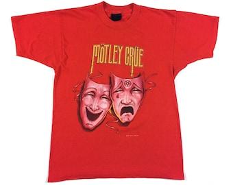 Vintage 80s MOTLEY CRUE Theatre Of Pain 1985 tour concert shirt