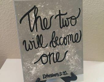 Scripture Canvas Art