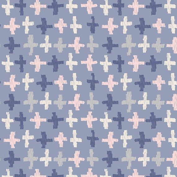 Changing Pad Cover >> Wonderful Things Joy Crossroads in Azure >> Made-to-Order violet changing pad, plus changing pad, blush change pad