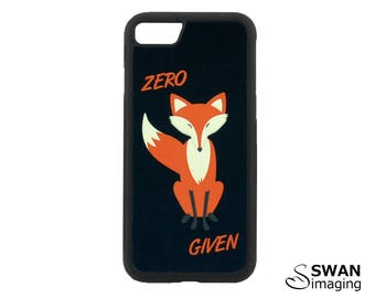 Zero Fox Given iPhone Case ~ TPU + PC iPhone Case ~ iPhone 5/5S, iPhone SE, iPhone 6/6S, iPhone 6/6S Plus, iPhone 7, iPhone 7 Plus