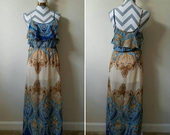 Gorgeous Boho Summer Maxi Dress