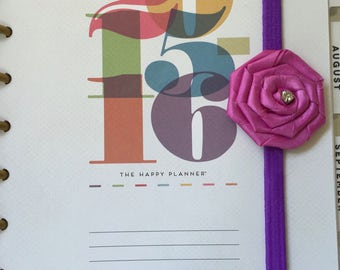 Purple and Fuchsia Stretch Planner Band  Item PB0041