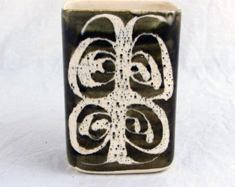 1960s Aviemore Studio Pottery Vase, Vintage Pottery