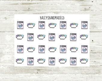 Laundry Stickers (hand drawn)