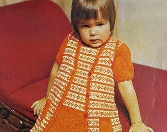 ROBIN 2176 Vintage Knitting Pattern