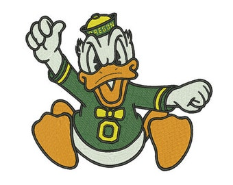 Oregon Ducks embroidery file 5 SIZES