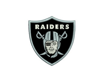 Raiders Embroidery File 3 SIZES!