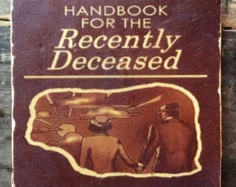 Beetlejuice Handbook for the Recently Deceased Coaster or Decor Accent