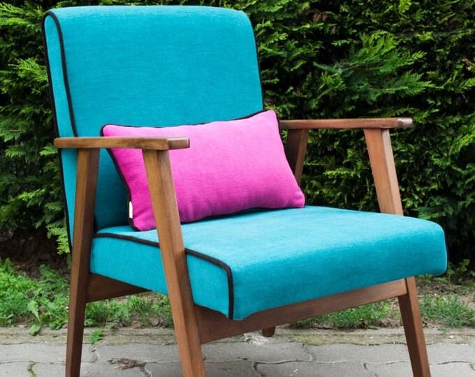 Selene Midcentury Upcycled Armchair