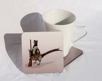 Pheasant Hunter Coaster
