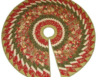 Spiral Tree Skirt pattern