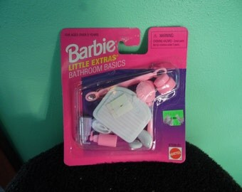 Barbie/Little Extras/ Bathroom Basics/Accessories/ New in Box