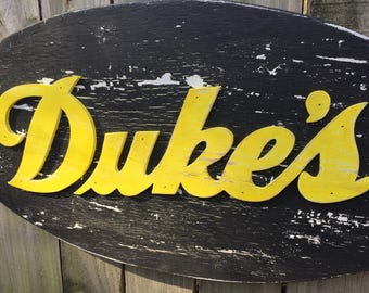 Custom Signs, Weathered Wood Signs, 3D Signs, Hand Painted, Routed Sign, Business Sign, Vintage Reproduction