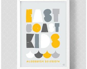 East Coast Kids Print, Leigh-on-Sea Crew