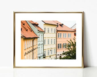 Pastel Wall Prints, Pastel Art Decor, Czech Prints, Pastel Prints, Wall Decor, Prague Print, Fine Art Prints, Travel Prints, Large Wall Art