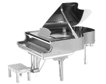 Fascinations Metal Earth Grand Piano 3D Metal Model Kit
