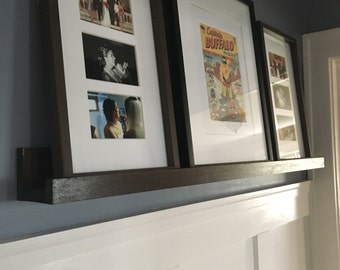 "Set of two | 48"" Picture Ledge Shelves 