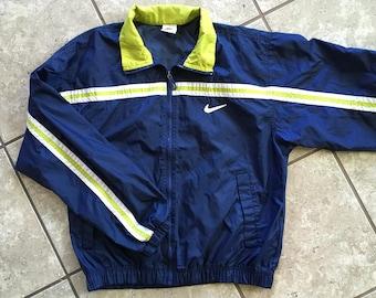 Nike 90''s Windbreaker Blue Citrus White Jacket