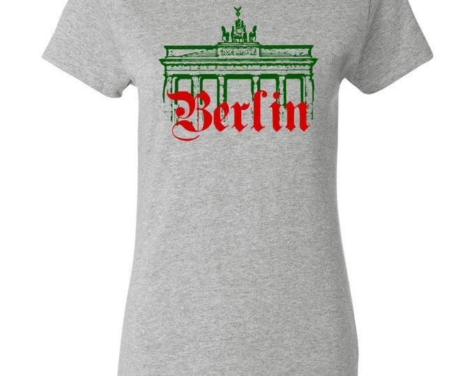 Brandenburg Gate Berlin Germany Womens History T-shirt