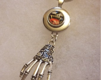 Skeleton hand key chain