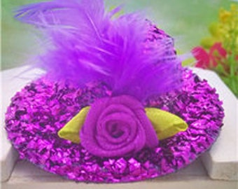 Fascinator Hat hair clip 2-1/2 inches