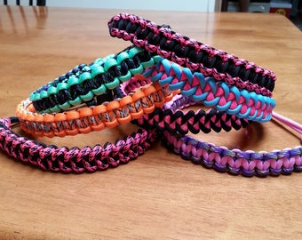 Paracord Single Handle for Wide , Narrow or Standard Mouth Hydro Flasks