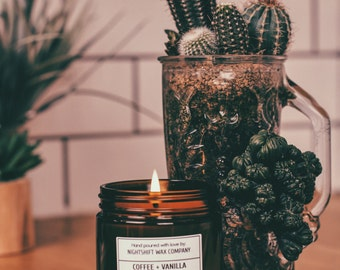 Coffee + Vanilla Soy Candle