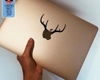 Antlers - Macbook Vinyl Decal Sticker / Laptop Decal / iPad Sticker
