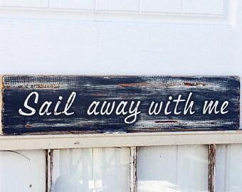Ocean Inspired Sign