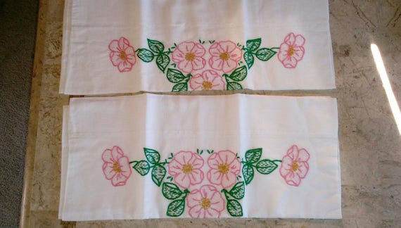 Vintage Pillow Covers - Floral