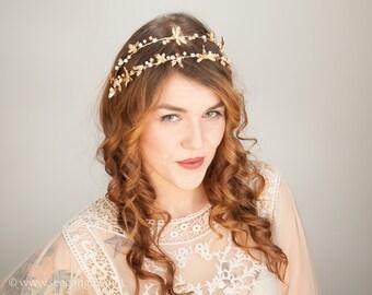 Crown Vintage Bride Gold