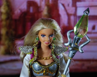 WOW: Jaina Proudmoore OOAK Customized Barbie Doll