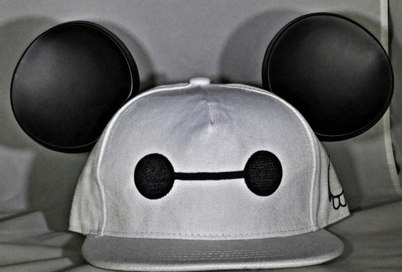 Baymax. Big Hero 6 Hat. Mickey Ears.