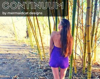 crochet romper jumper pattern - Continuum